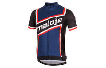Maloja CicliM. Shirt Jersey Heren 1/2 blauw/zwart